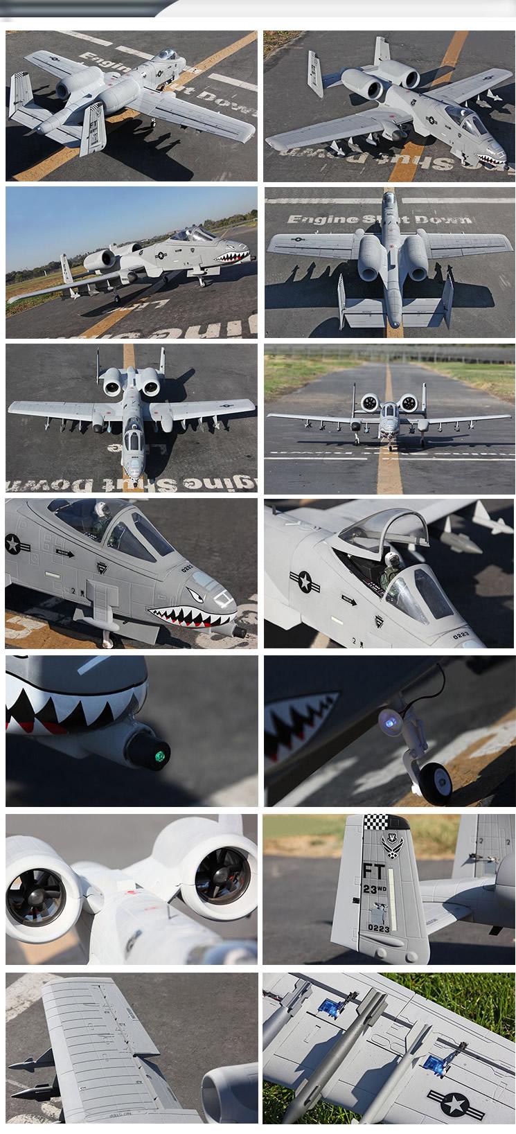 Sky Flight Hobby A-10 Warthog 2x70mm Jet PNP wholesale cheap