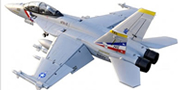 Sky flight Hobby F-18 2x70mm Jet Vector Thrust PNP Rc airplane