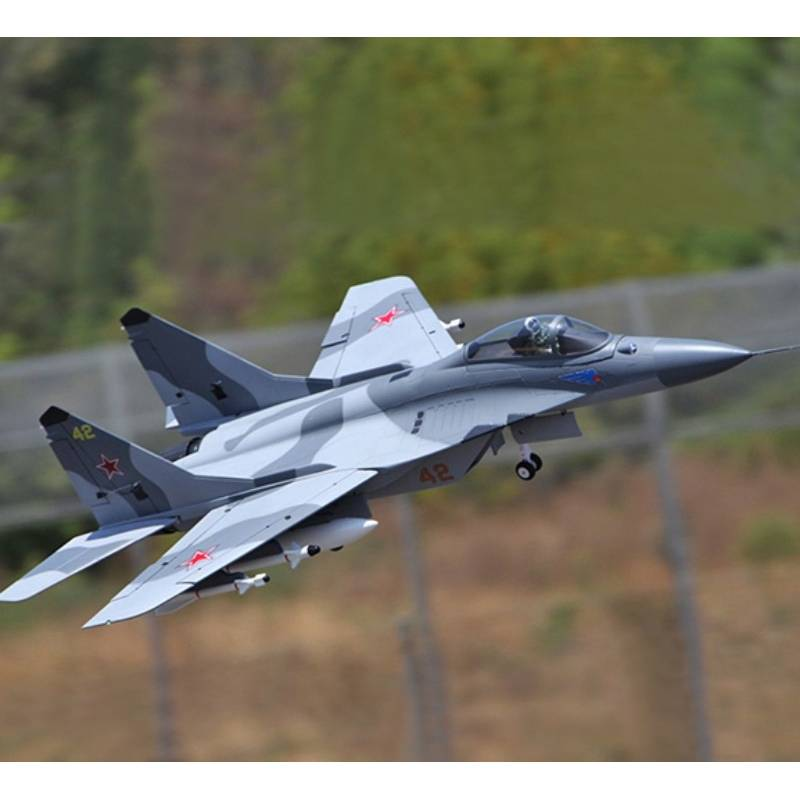 Sky Flight Hobby Mig-29 Fulcrum 2x70mm Jet Vector Thrust PNP